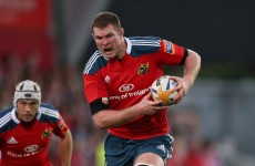 Ireland and Munster lock Donnacha Ryan set for up to six months out