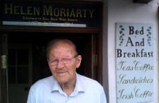 This 86 year old JUST saw a 1950s film he was in for the first time