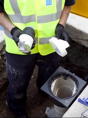 (File photo) Irish Water employee
