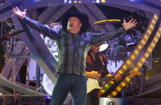 This GIF of Garth Brooks falling on stage will make you feel better about him cancelling his Irish gigs
