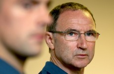 Martin O'Neill has dropped a few hints about his Ireland team to face Oman