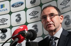 Martin O'Neill names Ireland 37-man squad for Gibraltar, Germany qualifiers