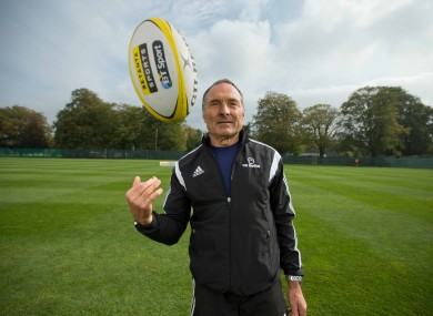 Dave Alred carried out the Setanta Sports Kicking Clinic last week in Carton House.