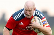 O'Connell and Murray return for Munster's clash with Zebre