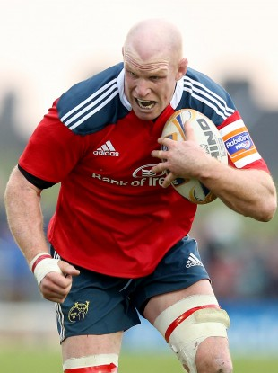 O'Connell makes his first start of the season for Munster.