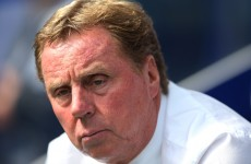 'Half the England players don't give a toss' says Harry Redknapp
