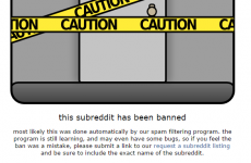 Reddit has finally banned the page that was hosting the leaked celebrity nudes