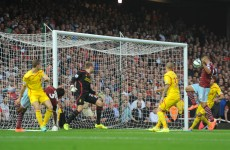 West Ham were 2-0 up against Liverpool after just seven minutes