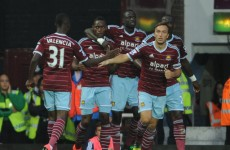 Early West Ham blitz helps down Liverpool
