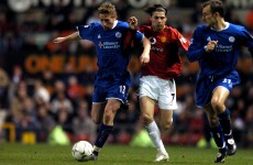 Here's the Manchester United team from when they last played Leicester