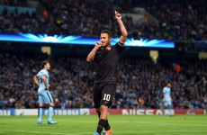 Age nothin' but a number for Totti as he produces sublime chip against City