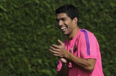 Barcelona confirm Suarez in line to make debut in next month's El Clasico