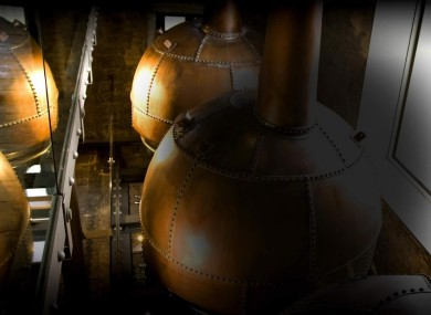 Inside the Tullamore Dew visitor centre