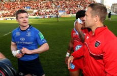 O'Driscoll and Wilkinson go head-to-head again, this time in the TV studio