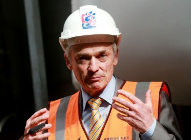 Jobs Minister Richard Bruton
