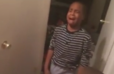Worst parents in the world make their son bawl by pretending he has Ebola