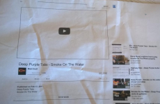 This guy's Dad tried to print a video