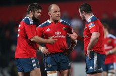 Foley shuffles Munster front row for Saracens test