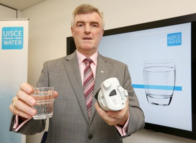 In the firing line: Irish Water managing director John Tierney