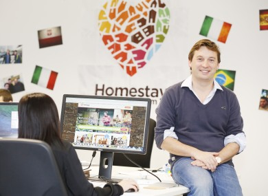 Homestay chief executive Alan Clarke