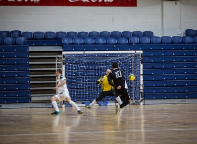 Futsal is hugely popular around the world despite remaining relatively low key in Ireland.