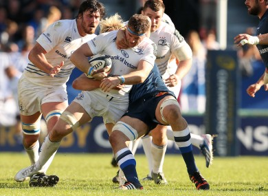 Heaslip: led Leinster with 19 carries.