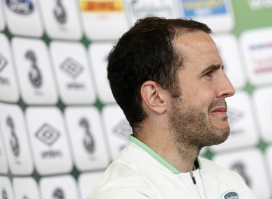 O'Shea has played down Roy Keane's suggestion that he had