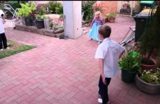 Father captures deeply unfortunate moment when testing out his new slow-motion camera