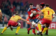 Hanrahan guides Munster to Thomond Park success over Scarlets
