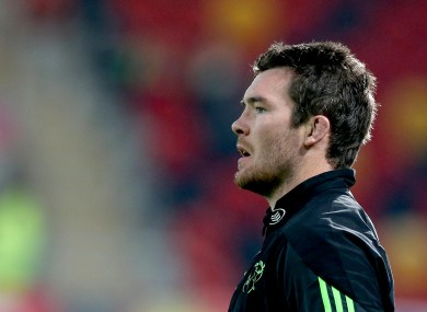 Peter O'Mahony captains Munster from blindside flanker for the European cup opener.
