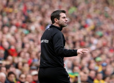 Rory Gallagher was previously Donegal's assistant manager.