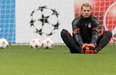 Manuel Neuer went on another one of his fun runs last night