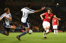Blind faith: Daley rescues a point for United after exciting draw at the Hawthorns