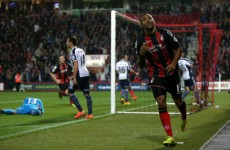 Bournemouth shock West Brom to move into Capital One Cup quarter-finals