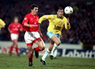 Man United? Pffft, Keane's best years were easily at Nottingham Forest.