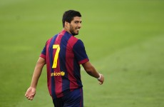 Luis Suarez readies himself for El Clasico and a date with destiny