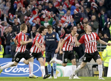 Can Derry make it three cup final wins over Pat's on Sunday?