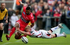Ulster's European hopes take major blow with home defeat to Toulon