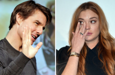 Lindsay Lohan wants you to know that she's definitely NOT secretly dating Tom Cruise… it's the Dredge