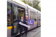 There was something amiss at the Luas safety launch today