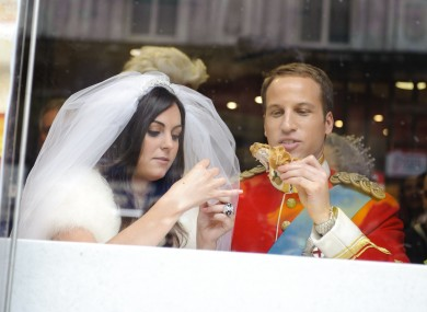 Even Wills and Kate are getting into the KFC (OK, it's not really them)
