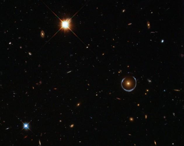 blue black hole gravitational lensing - photo #8