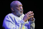 Bill Cosby was applauded by an adoring audience last night