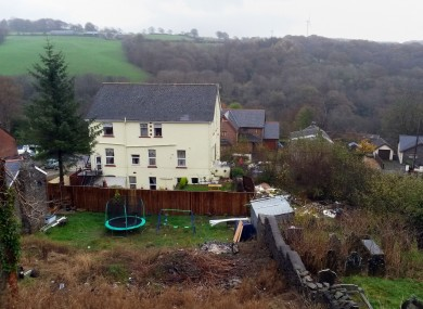 The Sirhowy Arms Hotel in Blackwood, south Wales.