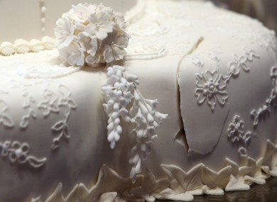 Let Them Eat Our Cake A Slice Of The Royal Wedding Cake