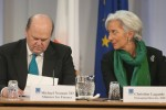 Finance Minister Michael Noonan and IMF Managing Director Christine Lagarde.