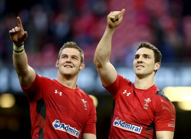 Dan Lydiate (left) is one of 12 Welsh players considering a dual contract.