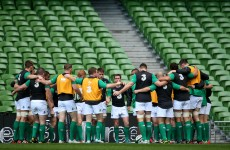 Reshuffled Ireland can't afford to take Georgians lightly as understudies look to make impression