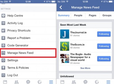 Heres how you can remove the clutter in your facebook news feed ccuart Image collections