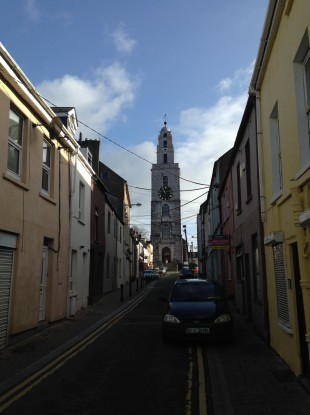 On track: Shandon on a Sunday morning.